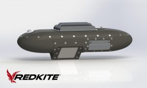 Redkite sensor pod weighs under 30 pounds.